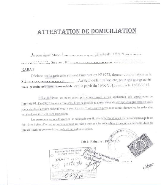 01 libre deuda de patente - Declaration de fin de travaux ...