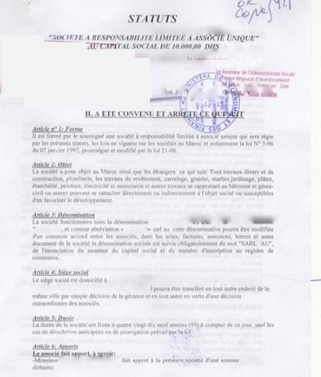 Legaliser Les Documents Du Dossier De Creation D Entreprise