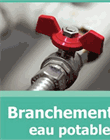 Branchement en eau potable